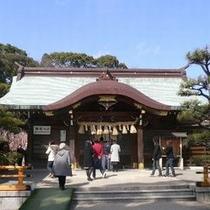 結城神社(車で約10分)