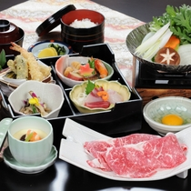 松阪牛すき焼き膳 (津みやび)