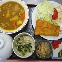 夕食:日替り定食