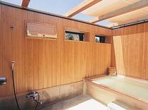 露天風呂木風呂