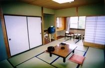 客室の一例(景色のよい和室)