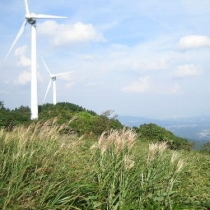 青山高原の風力発電