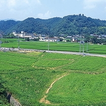 榊原温泉の風景