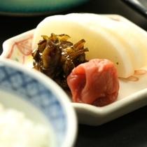 朝食_漬物