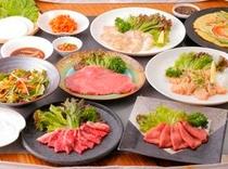 韓流焼肉「耀炎」の焼肉コース