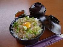 イカ丼(お食事処メニュー)