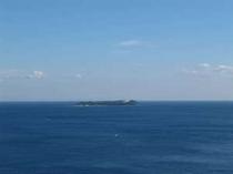 客室からの眺め 見渡す限り一面海 パノラマ2 初島方面