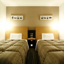 ◆ツインルーム◆お部屋でゆったりお寛ぎください♪