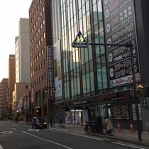◆新潟駅「万代口」を出て左手ヨドバシカメラが目印◆