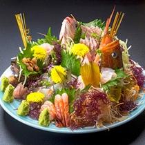 【料理一例】刺身盛り合わせ