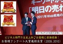 楽天アワード2010授賞式2