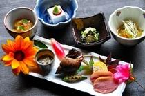 会席料理 小鉢(一例)