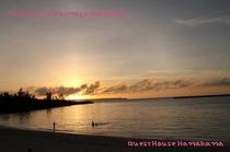 パイナガマビーチの夕日