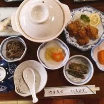 ◆夕食一例/大女将が愛情込めて育てた自家栽培の会津高原野菜など、地産食材をお愉しみください