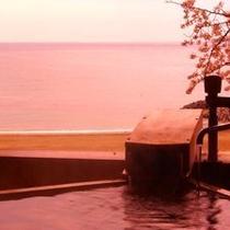 【渚/春】桜の見える客室露天