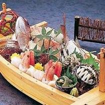 【プラン料理】舟盛(あわび)