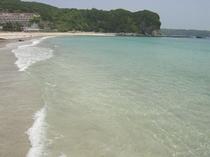 ▼透明度最高ランクの多々戸浜へ徒歩5分!魚の群れが足元を泳ぐ事も!写真の通り本当に綺麗な海です♪