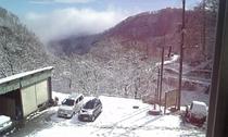 窓からの雪景色1