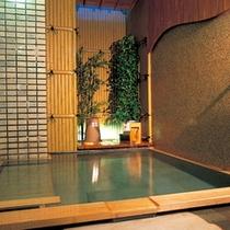 B階、貸切家族風呂【珊瑚】無料で何回でもご利用いただけます。