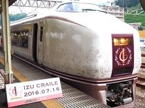 伊豆 クレイル  特別列車です。
