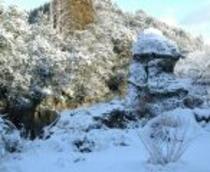 冬の陰陽石