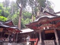 神秘のパワースポット、榛名神社