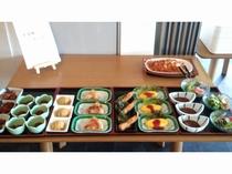 夕食ビュッフェ例(お子様コーナー)