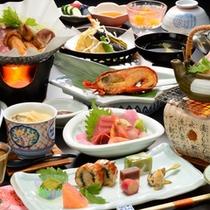 秋の味覚の松茸料理3種とさらに伊勢海老を堪能できる期間限定お料理プラン♪