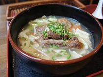 茶屋(館内居酒屋)ランチ野菜ソバ