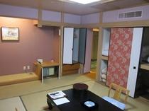 壁紙や襖の配色でお部屋のイメージも変わりますね☆