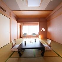 一般客室一例。各お部屋、趣向の異なる心地良い和室