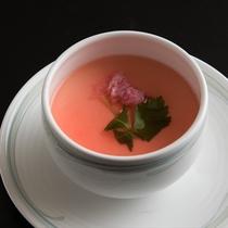 桜茶碗蒸し(季節限定)