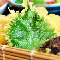【揚げ物】地鶏の天ぷら