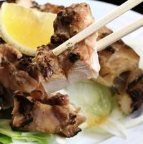 別注料理:地鶏のたたき