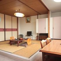 和洋室 ツイン+6畳【バス・トイレ付】