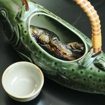 別注料理:岩魚の骨酒