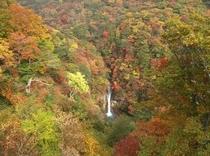 駒止の滝 秋