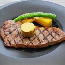★【メイン料理】:ステーキコース♪