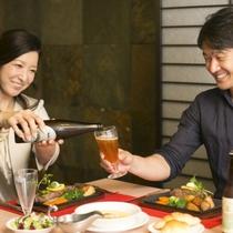 ご家族、ご友人とゆっくりお食事を楽しんでいただけます。