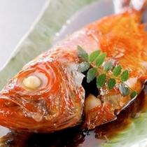 海の庭 自慢の金目鯛の煮付け