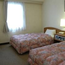 18平米のツインルーム《ベッド幅110cm》