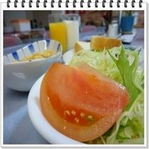 朝食 サラダ