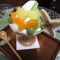 【お土産】むらい萬香園の忍者パフェと美味しいお茶 当ホテルより100m