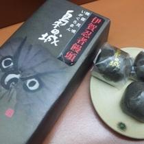 【お土産】桔梗屋織居の映画『梟の城 饅頭』 当ホテルより150m