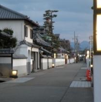 旧町並み 寺町通りは昔へタイムスリップしたような雰囲気 当ホテルより300m