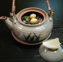 舞茸の土瓶蒸し