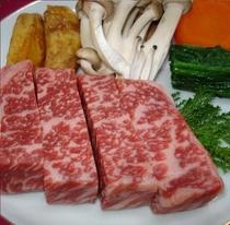 上州牛のステーキ