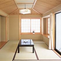 キッチン付きコテージ 和室一例