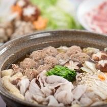 【お部屋食】ヘルシー富士の国ポーク鍋セット