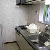 露天風呂付タイプキッチン例